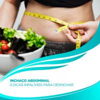 Inchaço abdominal: 5 dicas infalíveis para desinchar